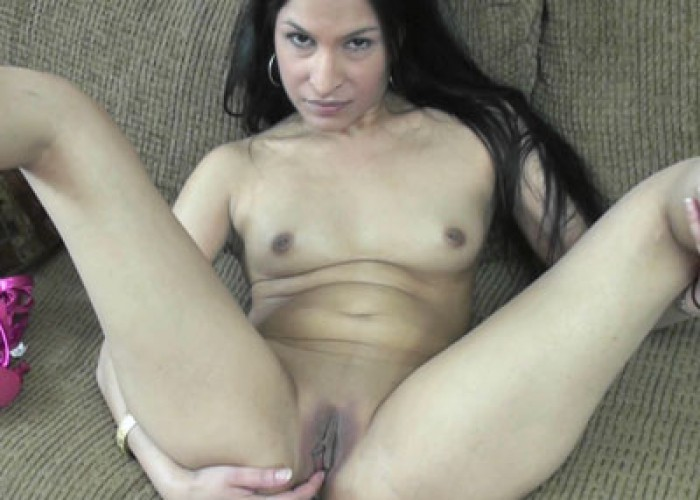 image Petite milf naomi shah fucks her exotic pussy with a toy